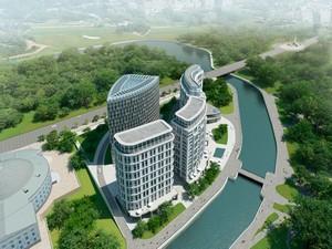 План строительства отеля