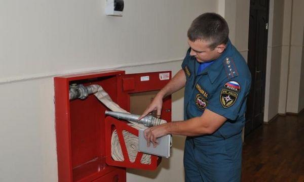 Проверка предприятия инспектором