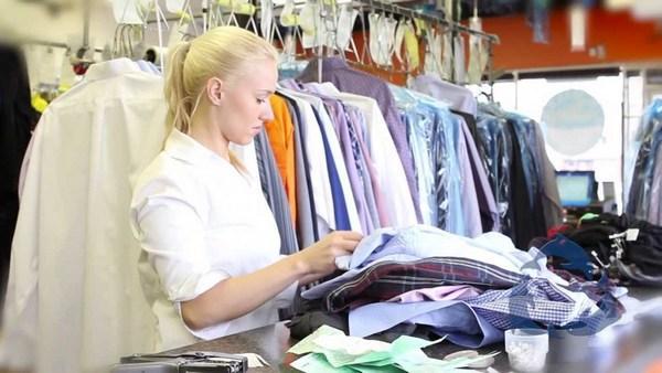 Прием одежды в химчистке