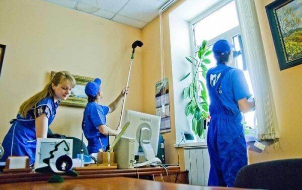 Уборка клининговой компанией