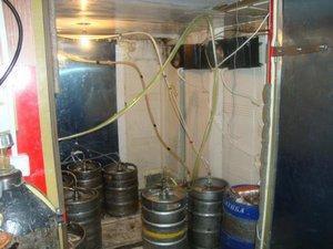 Хранение пива в кегах
