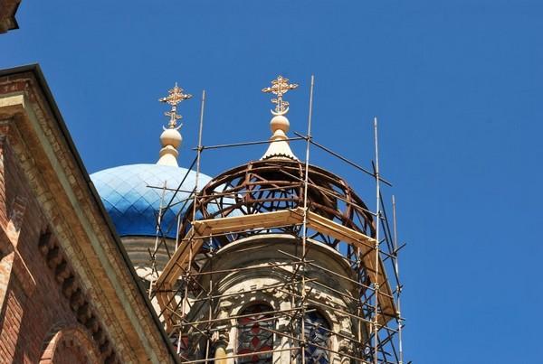 Реставрация церкви