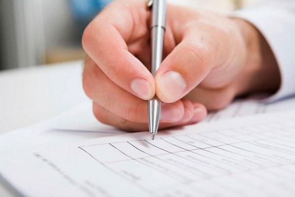 Заполнение личного листка по учету кадров