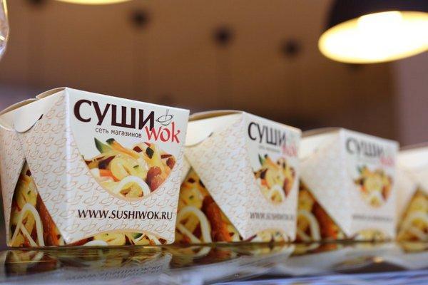 Еда из Суши Вок