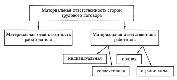 Договор о полной индивидуальной материальной ответственности образец
