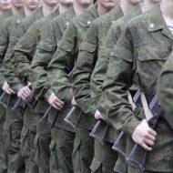 Военные на службе