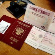виды заграничных паспортов - старый и новый