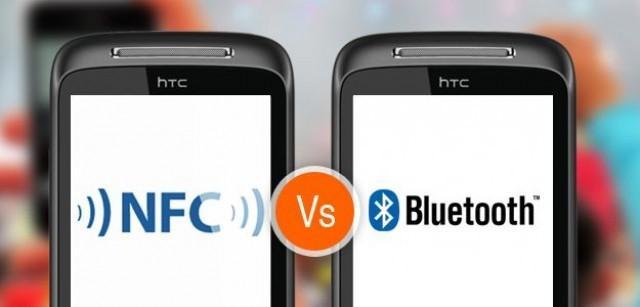 отличия NFC от Bluetooth