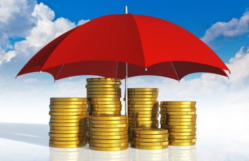 Деньги под зонтом