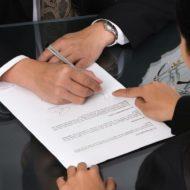 Процесс подписания