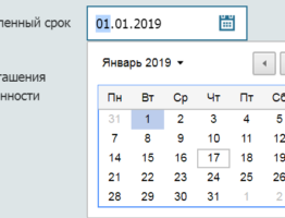 Калькулятор расчета пени 2019