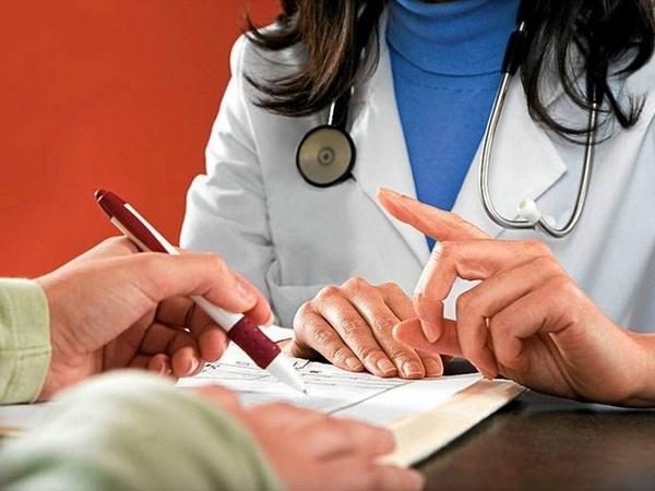 Выписка больничного листа