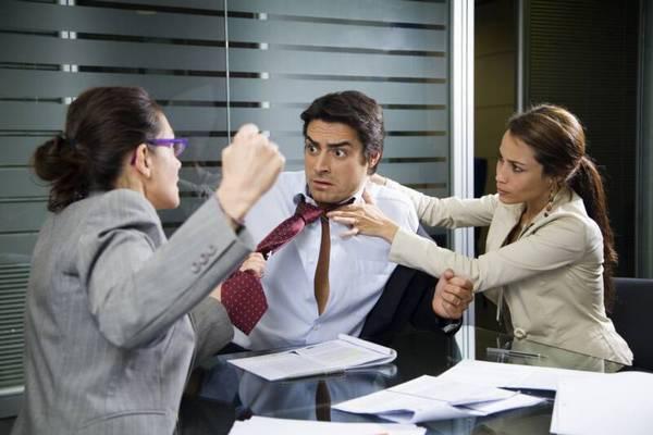 Конфликты с коллегами