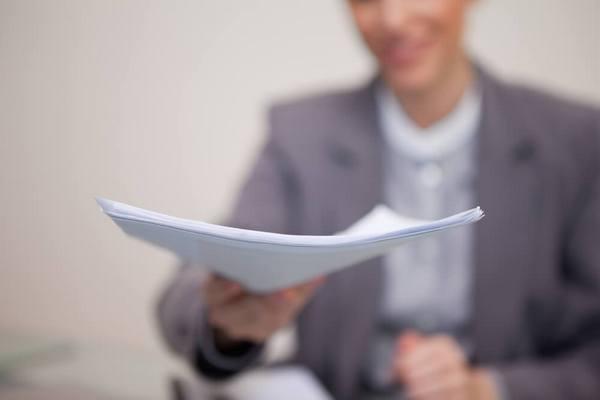 Передача документов руководителю