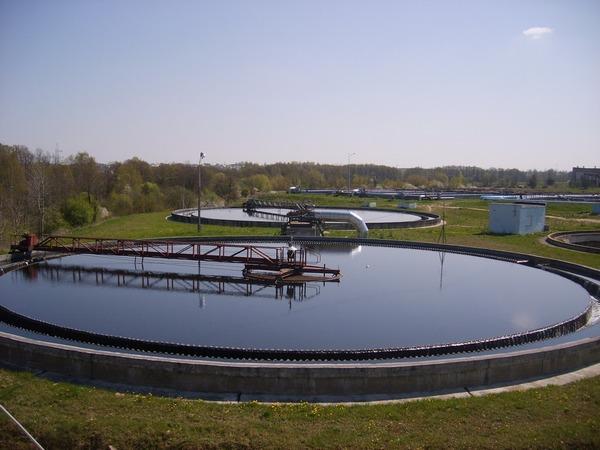 Очистительные сооружения для воды