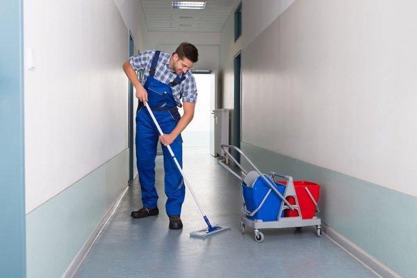 Уборщик служебных помещений