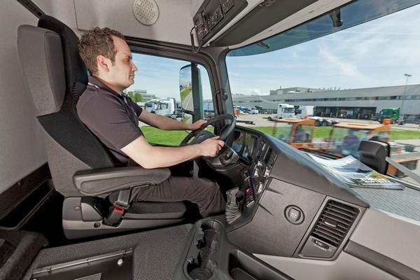 Водитель грузового автомобиля
