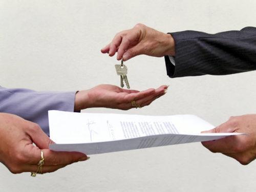 передача ключей от квартиры