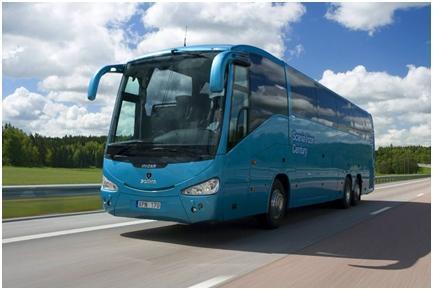 Автобус на дороге