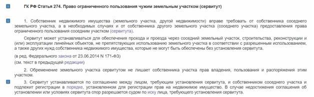 Статья 274 гк рф