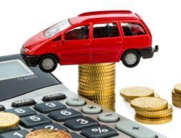 Калькулятор, деньги и машина