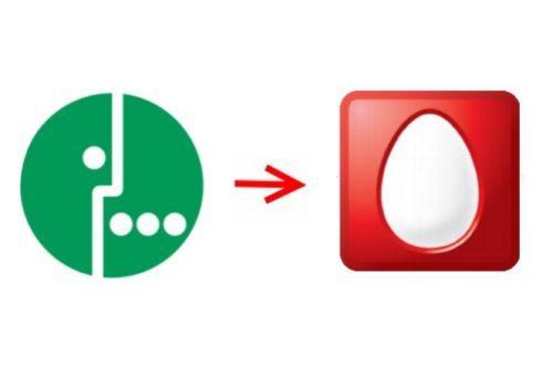 логотипы и стрелка