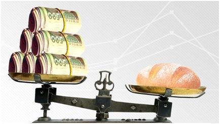 Сравнение стоимости хлеба