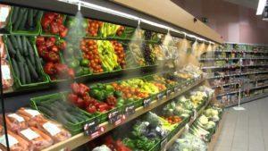 Витрина супермаркета