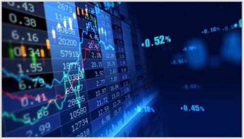 График биржи