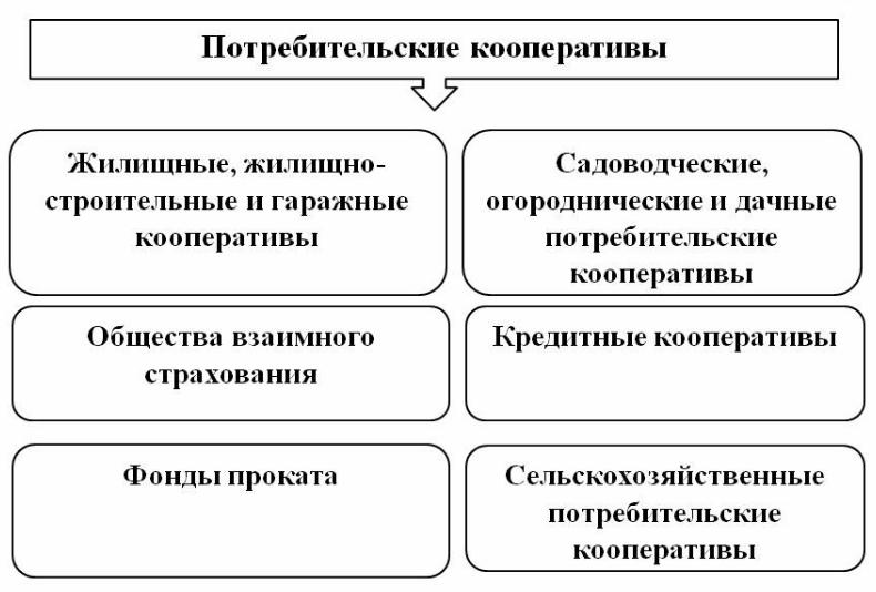 структура потребительского кооператива