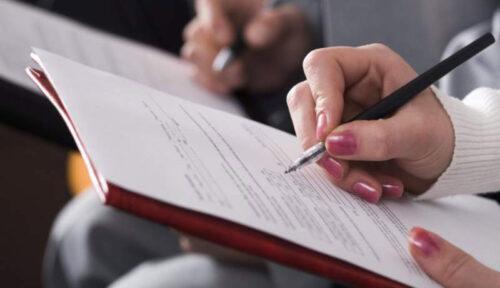Подписание акта приема-передачи оборудования