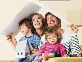 Ипотека для молодой семьи. Иллюстрация