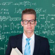 Лектор у доски