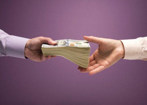 Трансфертные платежи. Иллюстрация