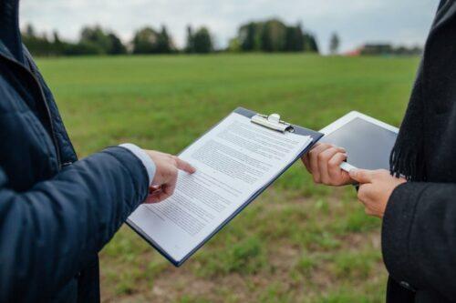 Прием-передача земельного участка