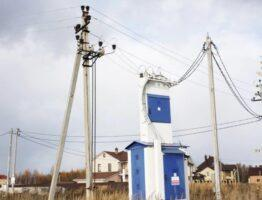 Участок земли с размещенными энергопотребителями