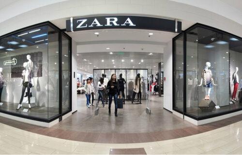 Магазин одежды популярных брендов