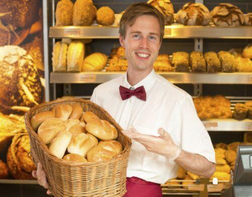 Работник пекарни