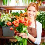 Продавец цветочного магазина